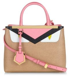 FENDI Petite 2Jours Bag Bugs leather cross-body bag - $1,881.00