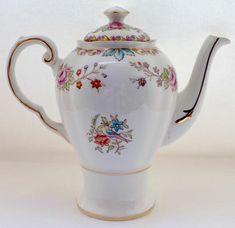 Gorgeous vintage English china coffee pot