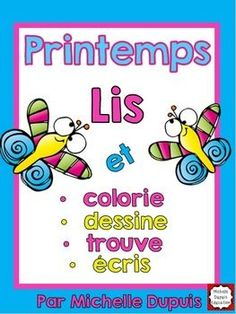 Browse over 330 educational resources created by Michelle Dupuis Education French Francais in the official Teachers Pay Teachers store. Fun Classroom Activities, Spring Activities, Reading Activities, Preschool Class, Kindergarten Classroom, Teaching Language Arts, French Language Learning, Core French, French Class