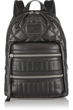Marc by Marc Jacobs | Domo Arigato Biker quilted leather backpack | NET-A-PORTER.COM