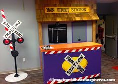Kids' Train Station Theme 01
