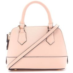 Forever 21 Textured Faux Leather Crossbody (320.945 IDR) ❤ liked on Polyvore featuring bags, handbags, shoulder bags, pink purse, faux-leather handbags, pink shoulder bag, pink crossbody purse and crossbody purse