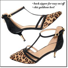 """Faux Suede 2 1/2"""" heel. Now available in C22. 20% Net Profit donation to the Avon Breast Cancer Crusade. #kickcancersbutt"""