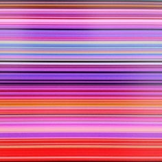 Gerhard Richter Strip Paintings 2012 - Marian Goodman Gallery (Taken with Instagram)