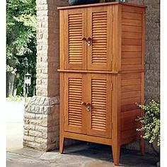 Home Styles Montego Bay Four Door Multi Purpose Storage Cabinet