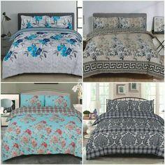 Duvet Set Bedding Quilt Cover Set Reversible Design Brand New Summer 2020 Range