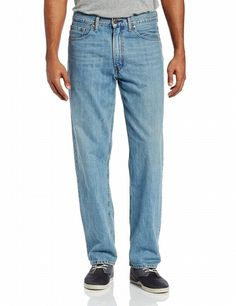 Levis 550 Relaxed Fit Denim Jeans 34 x 36 Misty Lights Blue 00550-0052 34x36 #Levis #Relaxed
