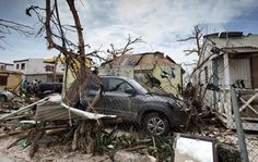France has assessed damages from the hurricane Irma