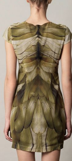 McQ Alexander McQueen Butterfly-print mini dress for women Another statement style from McQ Alexander McQueen; Beautiful Outfits, Cute Outfits, Beautiful Clothes, Mini Dresses For Women, Mcq Alexander Mcqueen, Mode Style, Dress Codes, Couture Fashion, World Of Fashion