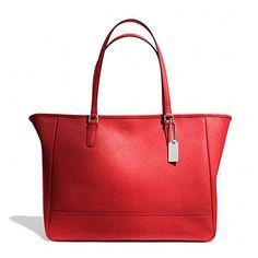 Regal Red - Patrick Carline Beaches Hand Bag #patrickcarline #beaches #handbag #red #regal #style