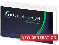 Novinka! TopVue Premium for Astigmatism (6čoček) - TopVue