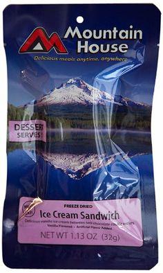 Stocking Stuffer Amazon.com: Mountain House Ice Cream Sandwich (1 Pouch): Sports & Outdoors
