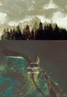 It was once the city of Dale. Now it is a ruin. The Desolation of Smaug.