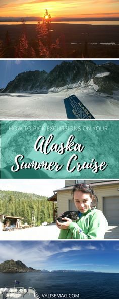 People are surprised to learn I grew up in Alaska. I find this a great opportunity to give you tips on how to pick excursions on your Alaska summer cruise.