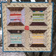 Oh, there's also this mini, made for a friend. I love mini quilts, they are perfect for practicing FMQ.   Flickr - Photo Sharing!