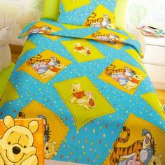 Winnie The Pooh, Comforters, Disney, Quilts, Blanket, Bed, Creature Comforts, Winnie The Pooh Ears, Stream Bed