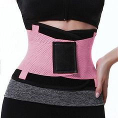 3501ec7683 GLANE Unisex Xtreme Power Belt Hot Slimming Thermo Shaper Waist Trainer
