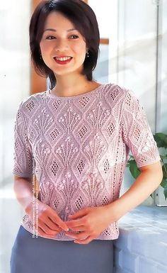 lady knit sweater