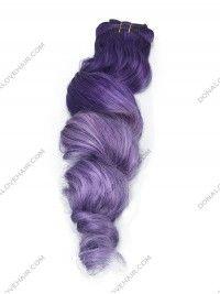 Lila und Leicht Lavendel Indische Remy Clip in Hair Extensions CD001