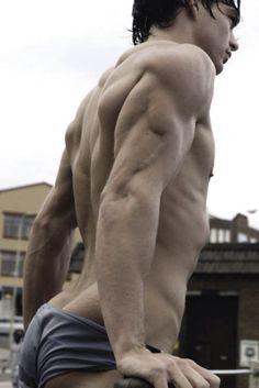 Wholly triceps batman!