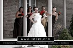 Finest Alterations Services for Bridal & Bridesmaid Dress in Cambridge Area: Nocce Bridal Alterations Bridal Alterations, Sewing Alterations, Wedding Bridesmaid Dresses, Prom Dresses, Formal Dresses, Bridesmaids And Mother Of The Bride, Bride Gowns, Bride Groom, Nice Dresses