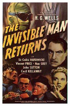 El presunto retorno del Hombre invisible