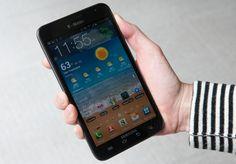 Samsung Galaxy Note via @CNET