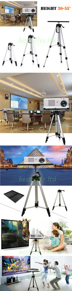 Projector Mounts and Stands: Functional Laptop Notebook Video Projector Mount Tray Holder Tripod Stand 20-55 -> BUY IT NOW ONLY: $39.94 on eBay!