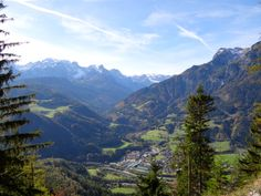 Looking down on the beautiful landscape of Werfen, Austria from the largest ice cave in the world Student Photo, I Want To Travel, Salzburg, Study Abroad, Beautiful Landscapes, Austria, Travel Guide, To Go, Europe
