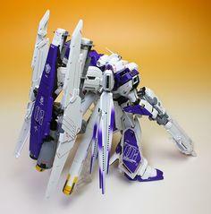 Custom Build: MG 1/100 hi-nu Gundam Ver. Ka HWS - Gundam Kits Collection News and Reviews