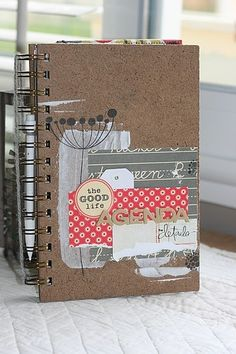 Lovely agenda by Sofie  Perfect cover for my FP album