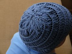 spiral hat back by sonjaartisania, via Flickr