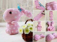 Cute cute cute! sock bunny craft..
