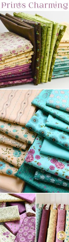 Prints Charming from Moda Fabrics by Sandy Gervais Prints Charming is a beautiful collection by Sandy Gervais for Moda Fabrics available at Shabby Fabrics
