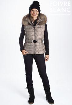 08e8ce44 Préparez l'hiver avec la nouvelle collection Poivre Blanc - Look # 4 (Gilet  doudoune. / Down vest.)