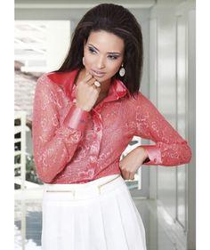 Camisa Feminina Principessa Belinda - Outlet