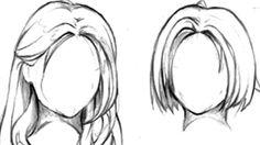 Modèles de cheveux - Dessin.land