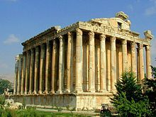 Lebanon's greatest Roman treasure, the ancient temples of Baalbek