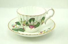FUCHSIA vintage Teacup & Saucer Jason Bone China ENGLAND #Jason