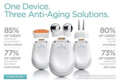 I could sure use a semi-new face. NuFACE facial toning and wrinkle reducing device.