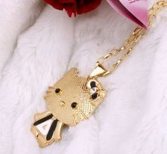 SAVE OVER $41 – Hello Kitty Rhinestone Necklace – JUST $2.71 Shipped!