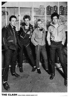 The Clash - London 1977 Photographie sur AllPosters.fr