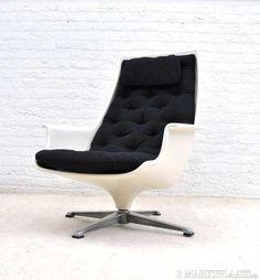 Typhoon armchair, Asko, Finland, ± 1970