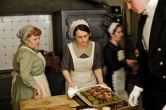 Behind the Scenes with the woman who makes Downton Abbey's food!