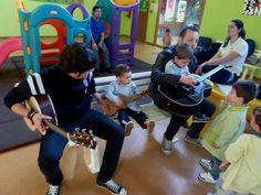 Mes da música na escola infatil O Bosque  Ames, marzo 2012