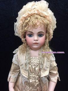 ブリュ ジューン 10号 - 懐古どぉるMicico|和洋アンティークドール専門店。人形好きなオーナーがお届けする、日本人形、西洋人形のアンティークドールショップ