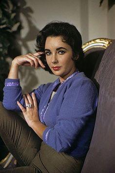"""gatabella: """"Elizabeth Taylor, c.1956 """""""