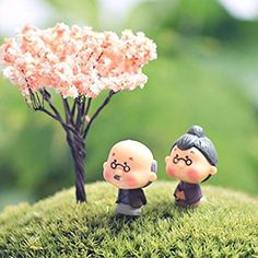 4X//Lot Plant Diy Resin Fairy Garden Craft Decoration Miniature Micro Gnome JD