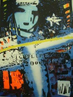 """Nightlife 2000 is een handgesigneerde (met marker) zeefdruk van Herman Brood met een oplage van 125 zeefdrukken en een beeldformaat van 65 x 90 cm. Het papierformaat is 76 x 107 cm. Deze zeefdruk kent 2 oplages (""""blauw"""" en """"rood""""). De """"blauwe"""" versie wordt aangeboden."""