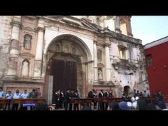 We danced at this Marimba concert in Antigua, Guatemala